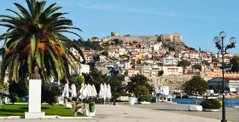 Город Лименас в Греции