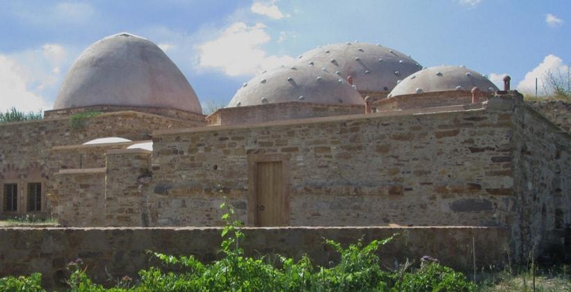 Турецкие бани в городе Хиос (Греция)
