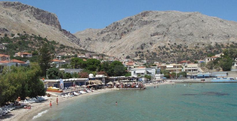 Курорт Вронтадос на острове Хиос (Греция)