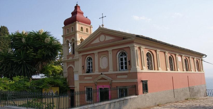 Церковь Панагия Мандракина в городе Керкира (Греция)