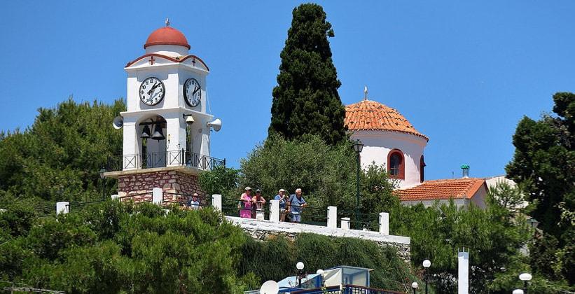 Церковь Святого Николая в городе Скиатос