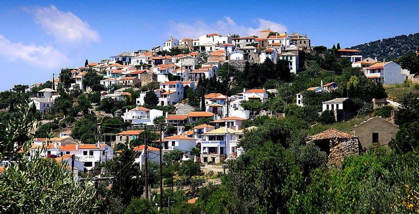 Хора на острове Алонисос (Греция)