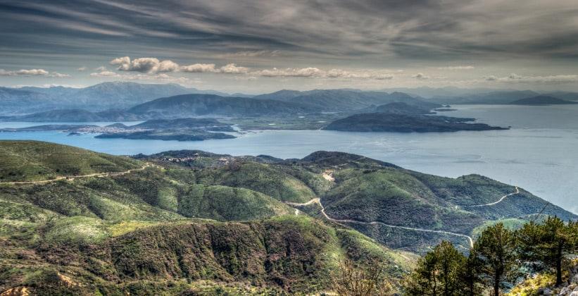 Остров Корфу (Керкира) в Греции