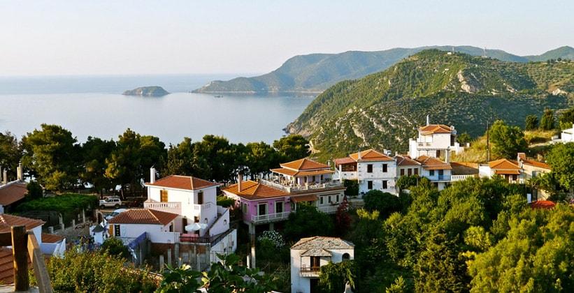 Красоты острова Алонисос (Греция)