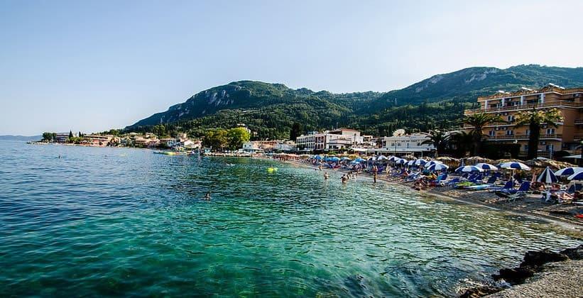 Курорт Беницес на острове Корфу