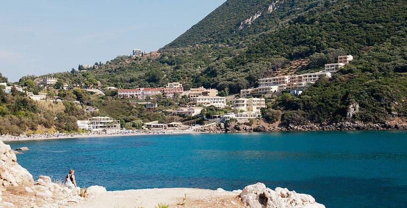 Курорт Эрмонес на острове Корфу