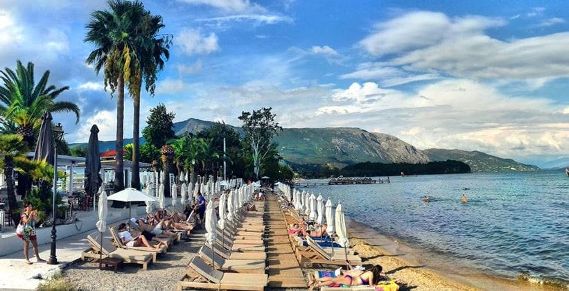 Курорт Ипсос на острове Корфу