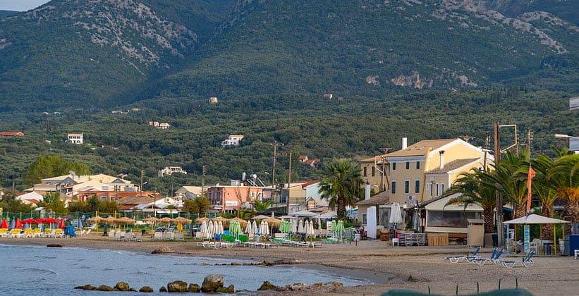 Курорт Рода на острове Корфу