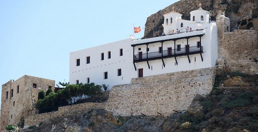 Монастырь Святого Георгия на острове Скирос