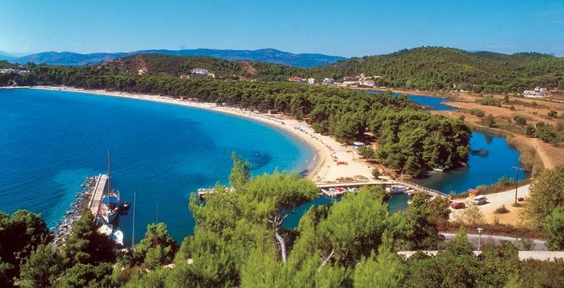 Остров Скиатос в Греции