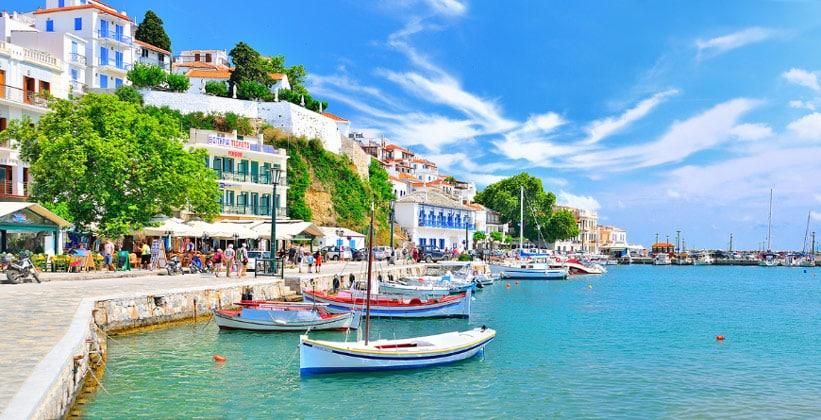 Остров Скопелос в Греции