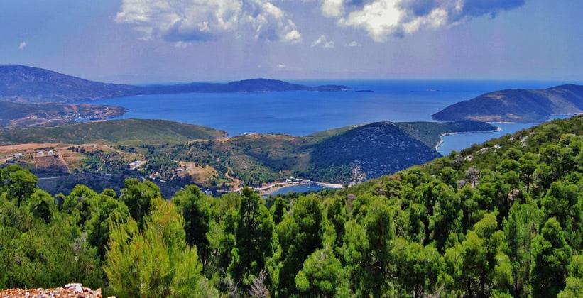 Остров Скирос в Греции