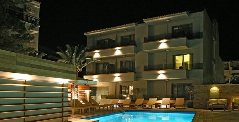 Отель Bourtzi в городе Скиатос (Греция)