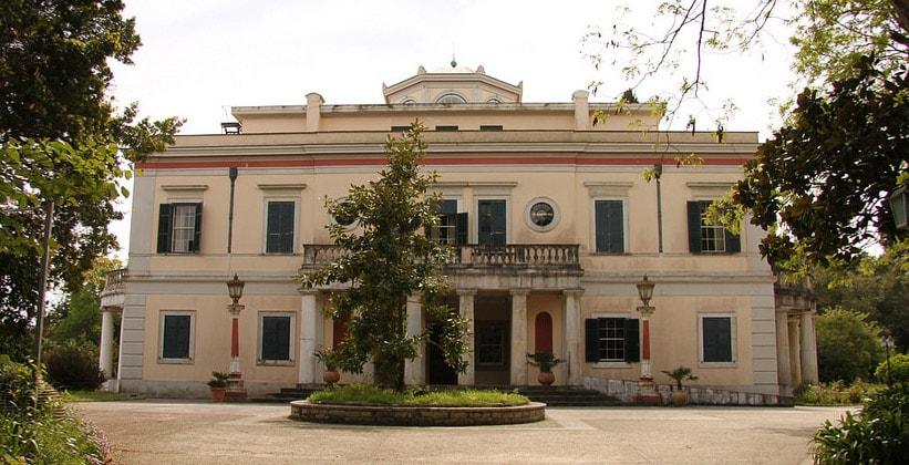 Поместье Mon Repos в окрестностях Керкиры (Греция)