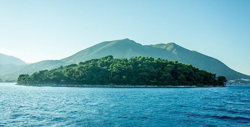 Остров Лефкада в Греции