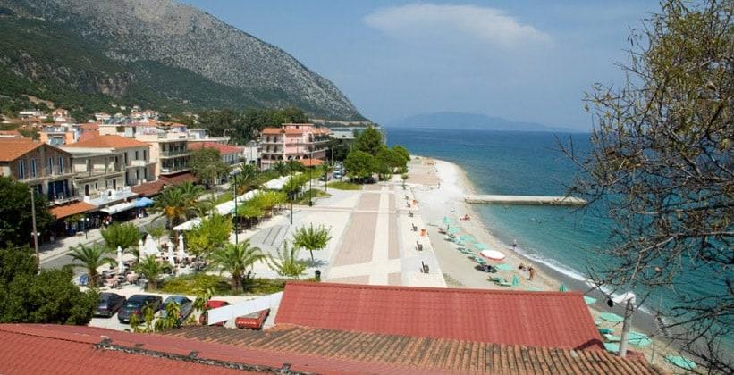 Курорт Порос на острове Кефалония (Греция)
