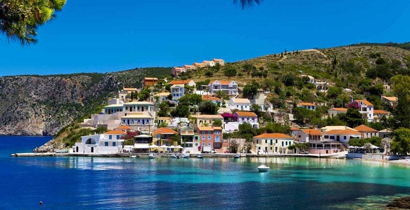 Курорт Скала на острове Кефалония (Греция)