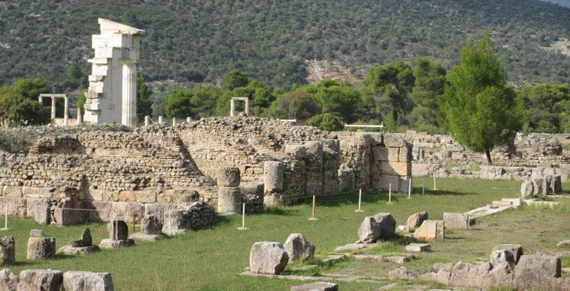 Древний Эпидавр в Греции