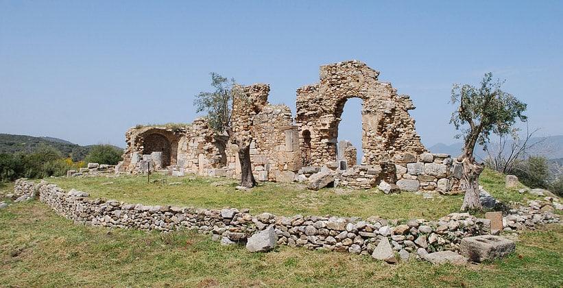 Античный Трезен в Греции