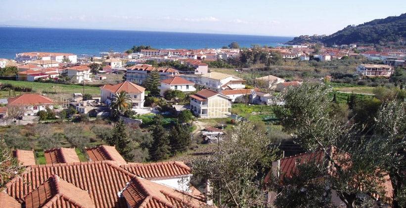 Курорт Аргасси в Греции