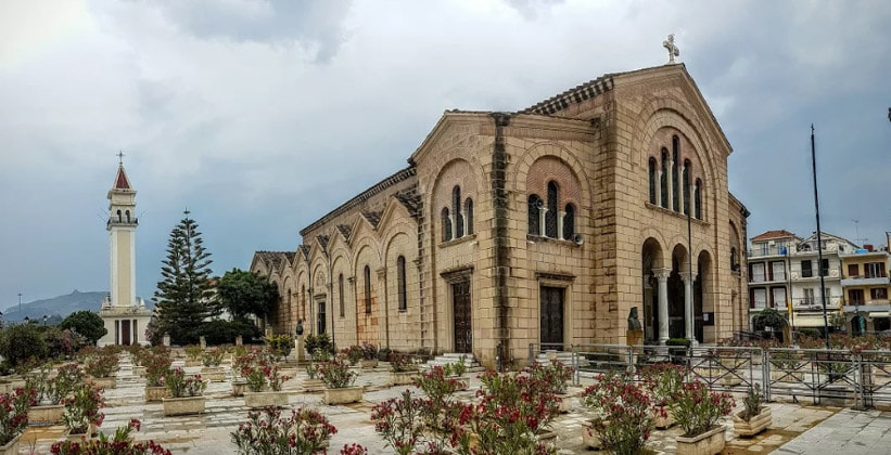 Храм Святого Дионисия в городе Закинтос (Греция)