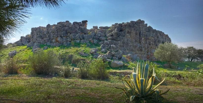 Древний Тиринф в Греции