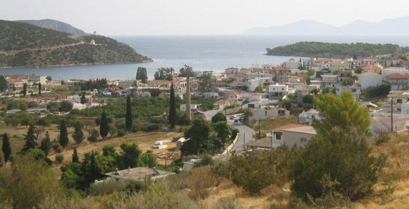 Городок Эрмиони в Греции