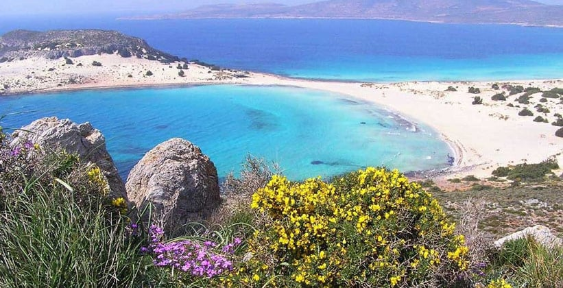 Остров Элафонисос в Греции