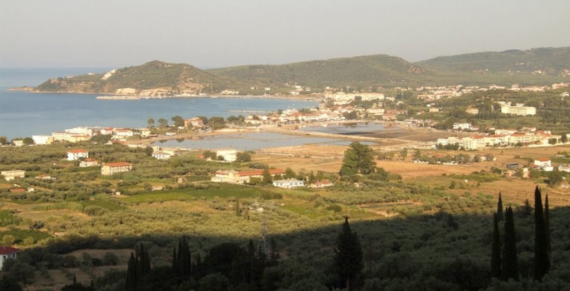 Курорт Аликес в Греции