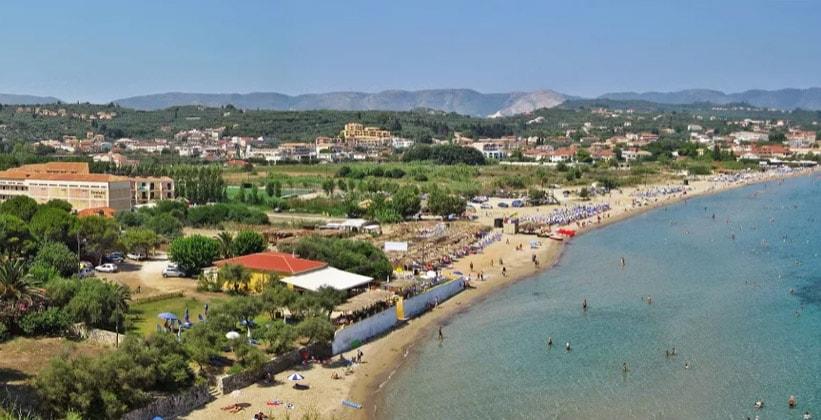 Курорт Циливи в Греции
