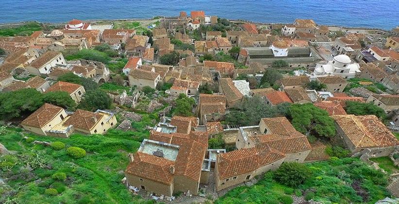 Нижний город Монемвасия (Греция)