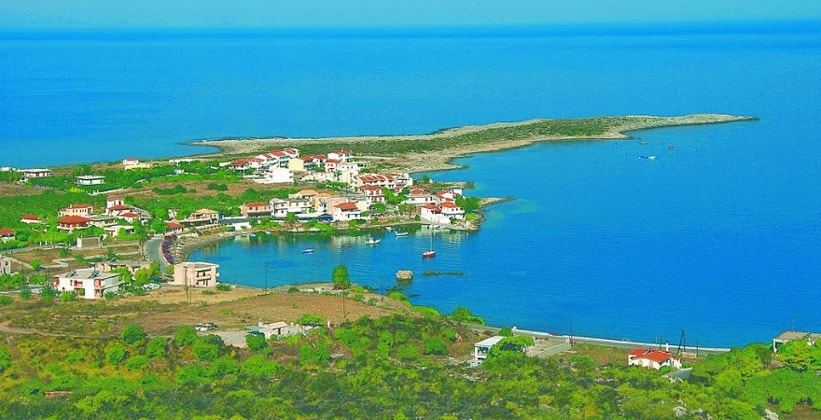 Курорт Архангелос в Греции