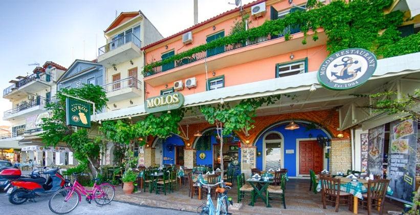 Ресторан Molos в городе Закинтос (Греция)