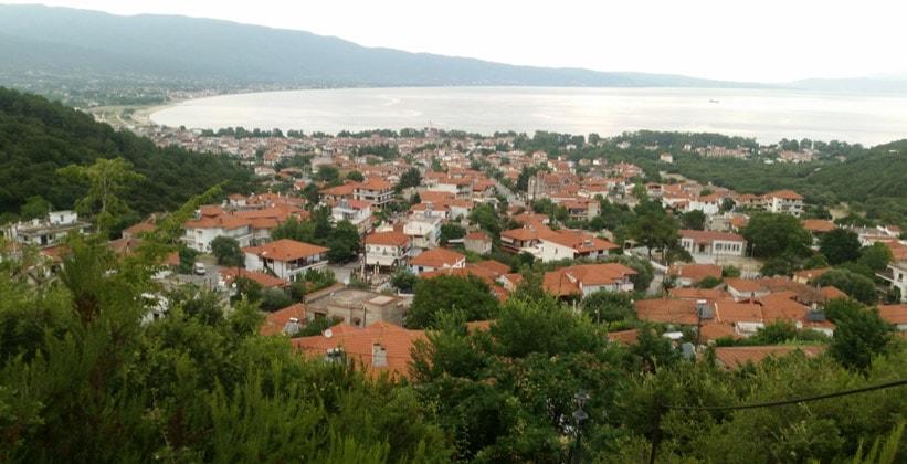 Город Ставрос в Греции