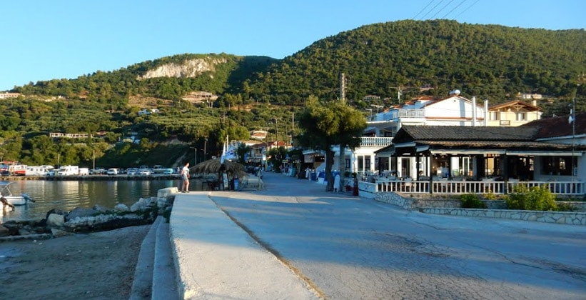 Деревня Кери в Греции