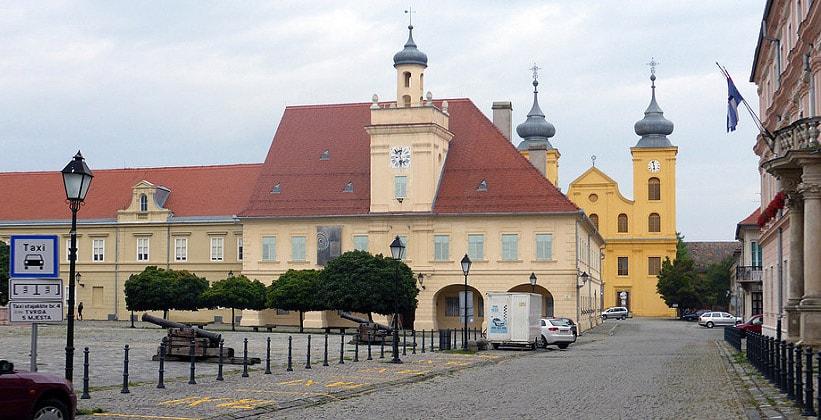 Барочные здания Осиека (Хорватия)