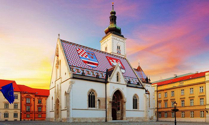 Церковь Святого Марка Загреба