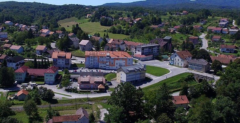 Городок Озаль в Хорватии