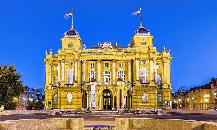 Хорватский Национальный театр в Загребе
