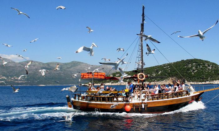 Морская прогулка на судне (Хорватия)