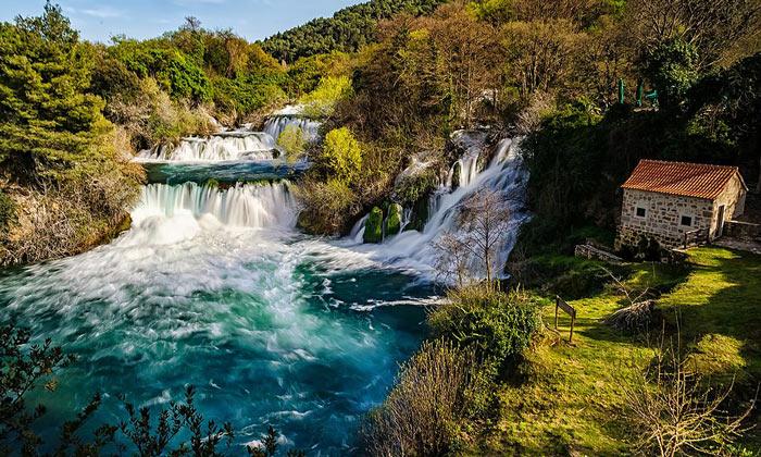 Водопад парка Крка