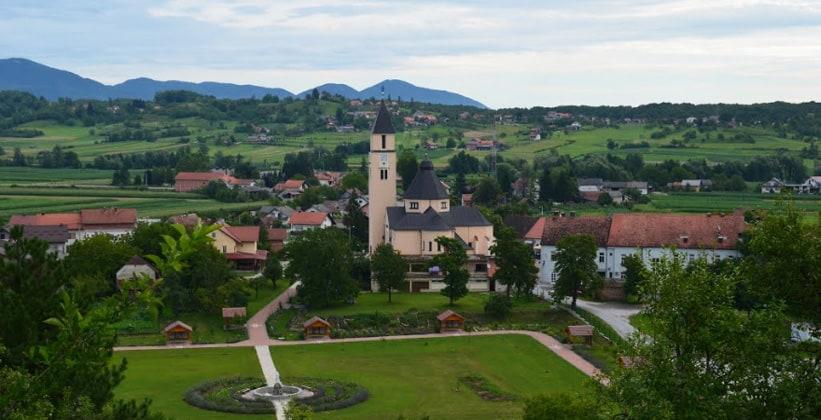 Деревня Крашич в Хорватии