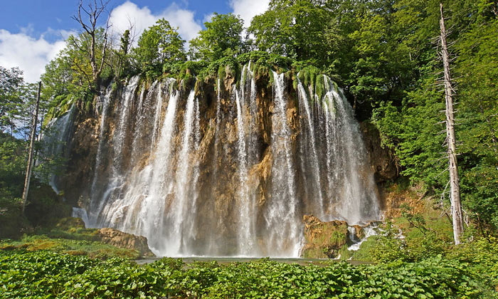 Водопад Плитвицких озёр