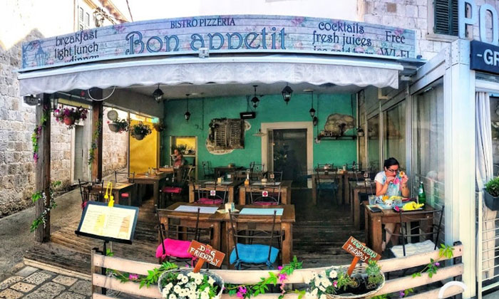 Бистро «Bon Appetit» в Дубровнике