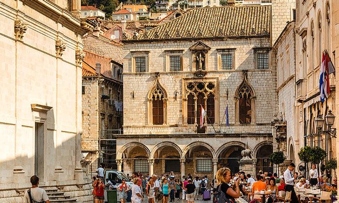 Дворец Спонца в Дубровнике