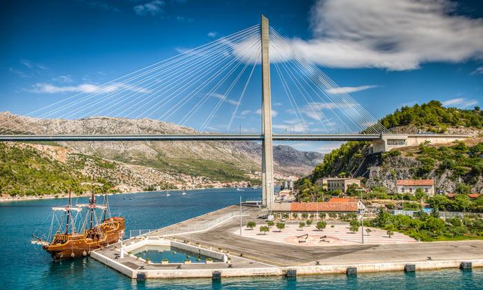 Мост Франьо Туджмана в Дубровнике