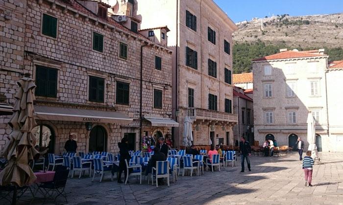 Ресторан «Kamenice» в Дубровнике