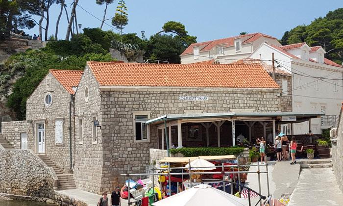 Ресторан «Orhan» в Дубровнике