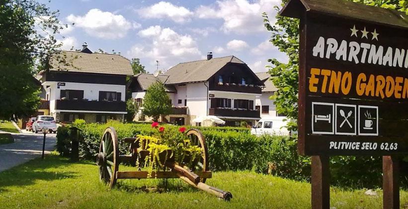 Апартаменты Etno Garden в Хорватии