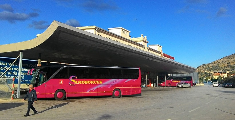 Автовокзал Дубровника (Хорватия)